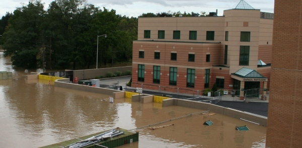 Hospital Remains Open Despite 500 Year Flood