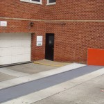FloodBreak Vehicle Gate provides permanent flood protection around the clock