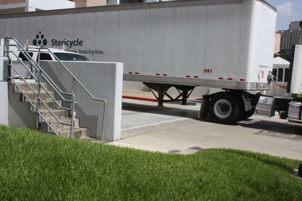 FloodBreak Vehicle Floodgates are permanently installed to provide 24/7 flood protection but allow full vehicle access