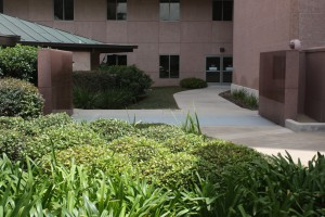 FloodBreak uses granite for sidewalls on MD Anderson campus