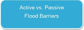 FloodBreak passive flood barriers deploy automatically and are low maintenance