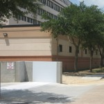 FloodBreak Automatic Vehicle Gate protects Bayshore Medical loading dock