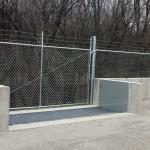 FloodBreak automatic flood barrier provides 24/7 flood protection
