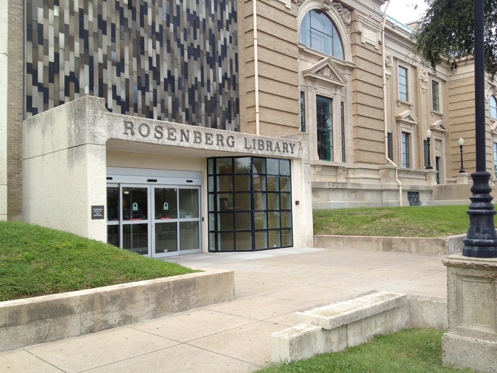Historic Rosenberg Library protected by FloodBreak Automatic Floodgate