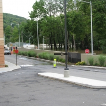 FloodBreak passive floodgate protects hospital from flooding