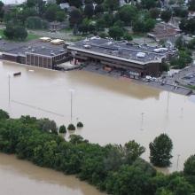 Flood Mitigation saves Union Endicott H S
