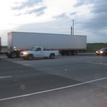 FloodBreak Roadway Gates are designed for HS-25 loading