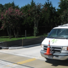 Extend levees with FloodBreak Roadway Gates
