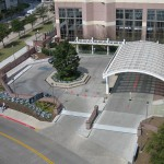FloodBreak automatic floodgates are integrated into the flood control system that protects MD Anderson