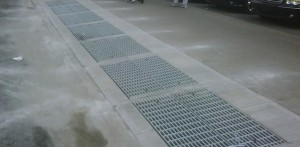 FloodBreak Vent Shaft System sits below street level grates