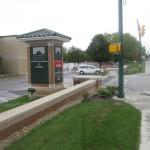 FloodBreak passive floodgates protect vehicle and pedestrian entrances