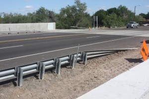 FloodBreak Roadway Gate is a cost effective alternative to raising bridges or roadways