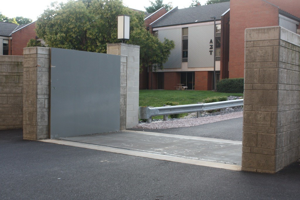 JMU-Large FloodBreak automatic floodgate protects campus
